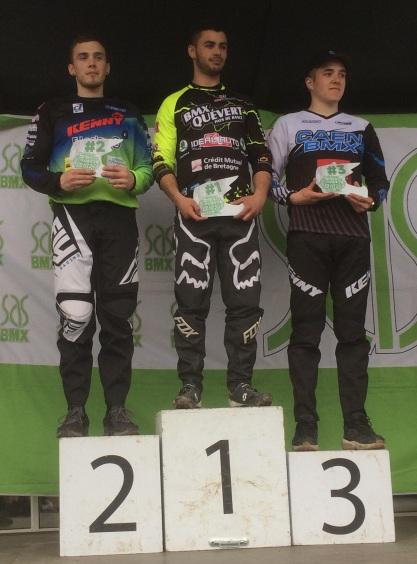 A 17-24 ans podium
