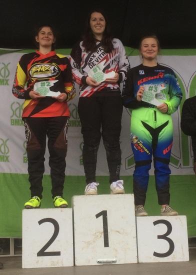 A Femme 17+ podium